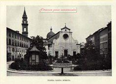 P.zza Santo Spirito,viaggiata nel 1912,la casetta in primo piano serviva ad uso deposito per attrezzi da giardinaggio