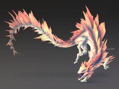 Mazillan by zyavera on DeviantArt <<< awesome art Mythical Creatures Art, Mythological Creatures, Weird Creatures, Magical Creatures, Fantasy Monster, Monster Art, Creature Feature, Creature Design, Fantasy Beasts