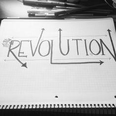 Revolution | #betterletteringcourse
