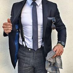 The Black Suit | Well this is dapper!