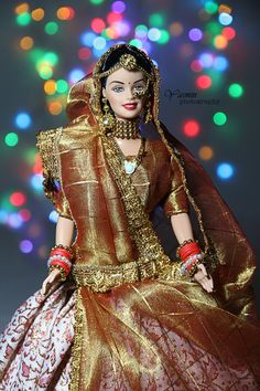 Indian Barbie in rajasthan traditional wear