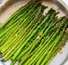 Garlic Butter Sauteed Asparagus - simple and sound asparagus formula that takes just 10 mins from prep to supper table. Sauteed Asparagus Recipe, Saute Asparagus, How To Cook Asparagus, Macaroni Salad, Just Cooking, Salad Ingredients, Quinoa Salad, Potato Soup, Garlic Butter