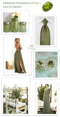 Exploring the August Birthstone - Peridot! Most sought after Peridot stone colors are lime green or olive green. Olive Green Weddings, Olive Wedding, Sage Green Wedding, Lilac Wedding, Wedding Humor, Wedding Blog, Wedding Styles, Wedding Ideas, Wedding Themes