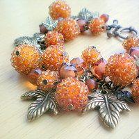 Autumn bracelet - Podzimní náramek   Jedle7 - Fler.cz Jewelry, Jewlery, Jewerly, Schmuck, Jewels, Jewelery, Fine Jewelry, Jewel, Jewelry Accessories