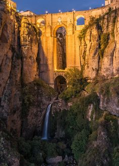 F&O Fabforgottennobility — breathtakingdestinations: Ronda - Spain...