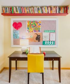 Before & After: An Artistic Family's Creative, Crafty Office — Professional Project | Apartment Therapy