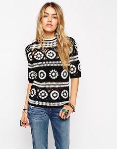ASOS #Crochet Top via Outstanding Crochet