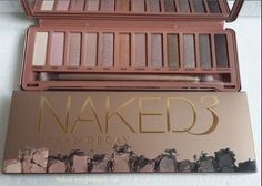 Urban Decay Naked 3 Eyeshadow Palette - just got this a few days ago! My first Urban Decay palette! All Things Beauty, Beauty Make Up, Girly Things, Hair Beauty, Beauty Stuff, Urban Decay, Just In Case, Just For You, Make Me Up