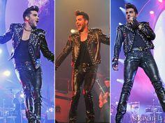 Adam Lambert And Queen Perform In Manchester During Their 2015 European Tour