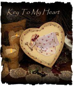 Key to my Heart by Terrye French E-Pattern