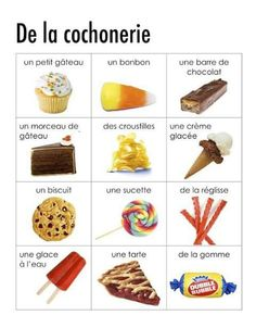 Junk Food Madame Belle Feuille: burger collage and menu French Language Lessons, French Language Learning, French Lessons, German Language, Spanish Lessons, Japanese Language, Spanish Language, French Teaching Resources, Teaching French