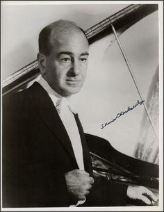 Shura Cherkassky (7 October 1911 – 27 December 1995)
