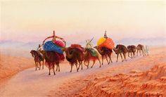 La caravane par Henri Richevillain