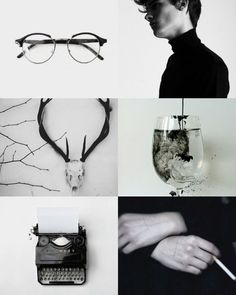 He turned from me and walked away. I watched his back receding down the long, gleaming hall. // Henry Winter aesthetics. The Secret History by Donna Tartt.