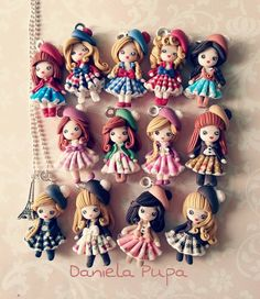 by Daniela Pupa Kawaii Jewels, the artist says on her facebook page that clothes are made from real fabric