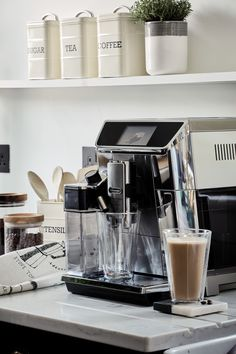 Make the most of your mornings with the the Primadonna bean-to-cup coffee machine from Delonghi - you'll be your own barista in no time. Clever Kitchen Ideas, Coffee Uses, House Of Fraser, Christmas Wishes, Own Home, Coffee Shop, Gift Guide, Just For You, Merry