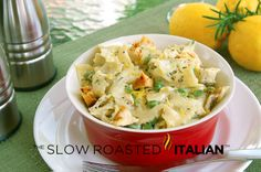 love pasta dishes
