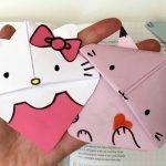 kitten bookmark hello kitty