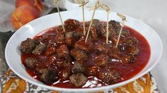 Finger Food Recipes: Sweet and Sour Meatballs Marilyn Denis Show Recipes, Sweet And Sour Meatballs, Easy Entertaining, Finger Foods, Casseroles, Food Ideas, Recipies, Dinners, Easy Meals