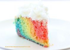 Rainbow cake, only just do different shades of blue and green?