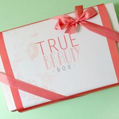 True Beauty Box Review via Pemberley Jones   A natural beauty subscription box that features full size products each month.