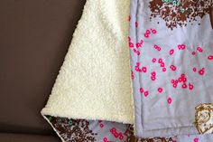 DIY Simple Snuggly Baby Blanket | Pretty Prudent