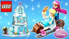 LEGO Disney Princess ⭐ Frozen Elsa's Sparkling Ice Castle 41062 with Princess Anna and Olaf Disney Princess Dolls, Disney Princess Cinderella, Princess Anna, Olaf Video, Rainbow Toys, Lego Duplo Sets, Prince Hans, Frozen Dolls, Frozen Sisters