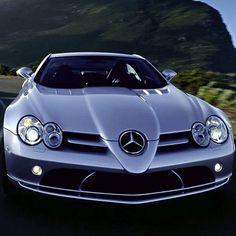 The legendary Mercedes Benz SLR