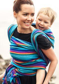 Totally in love with this Vanamo Ruutu Sateenkaari violet wool merino wrap