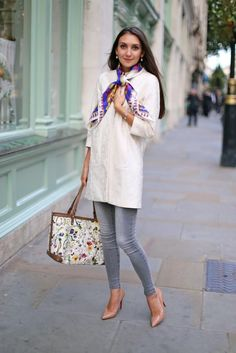 Look of the Day: London in October