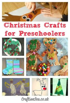 Christmas Crafts for Preschoolers: Tuesday Tutorials - Crafts on Sea