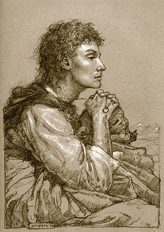 FRODO IN ITHILIEN BY DONATO GIANCOLA