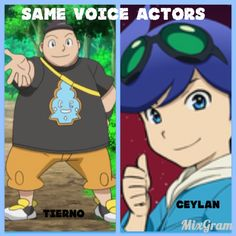 Same voice actors!! Pictures not owned by meh!
