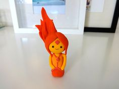 Flame Princess Adventure Time Handmade Polymer Clay Figure