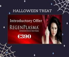 """Introducing a new anti-ageing treatment known in the beauty sector as the """"Vampire Facelift"""" - a safe, non toxic hypoallergenic treatment that wait for it uses your own blood!  PRP stands for Platelets Rich Plasma & involves high concentration of blood platelets and a small volume of Plasma. To share our excitement we have an introductory offer of €390 (normal price €490). This special offer is running until the 31st October, contact us on 041 980 3000 and talk to Virginia. Wrinkle Treatment, Spa Packages, Ageing, Halloween Treats, Anti Aging, Virginia, Blood, October, Sun"""