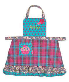 Another great find on #zulily! Cupcake Personalized Apron #zulilyfinds