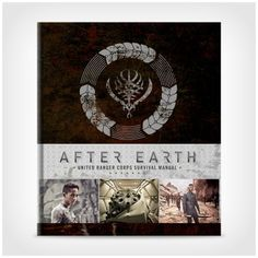 After Earth: United Ranger Corps Survival Manual by Robert Greenberger http://www.afterearthsurvivalstore.com/after-earth-united-ranger-corps-survival-manual-by-robert-greenberger/details/28144553?cid=social-pinterest-m2social-product_country=US=share_campaign=m2social_content=product_medium=social_source=pinterest $40.00