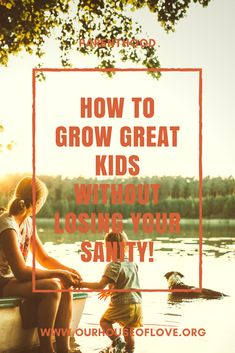 Want to be a great parent, raise great kids all while being stress free? How to grow great kids without losing your sanity is a resource you don't want to miss! Step Parenting, Parenting Toddlers, Parenting Quotes, Parenting Hacks, Family Matters, Losing You, Stress Free, Self Improvement, Self Help