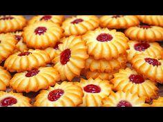 МНОГИЕ НЕ ЗНАЮТ ЧТО ОНО ГОТОВИТСЯ ТАК ПРОСТО! ПЕЧЕНЬЕ КУРАБЬЕ Бакинское | Кулинарим с Таней - YouTube Jam Cookies, Vanilla Essence, Tray Bakes, Biscotti, Vegan Recipes, Vegan Food, Butter, Gem, Fruit