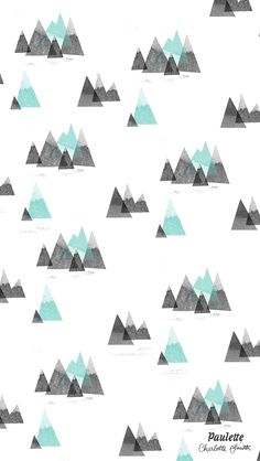 Winter Mountains iPhone Wallpaper Home Screen @PanPins