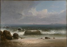 Beach Scene with Rocks I, 1834 Thomas Doughty