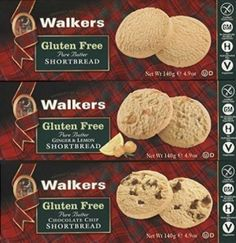 Walkers Gluten Free Shortbread. 3 flavors (lemon ginger is epic!) -- one of my favorite things for February, on ShockinglyDelicious.comShockinglyDelicious.com