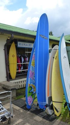 Hanalei Town-my board!!!
