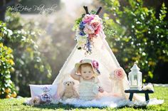 BABY BIANCA teepee tent play tent kids by SugarShacksTeepee