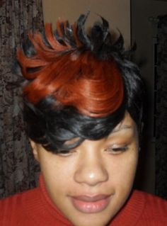 blonde and red quick weaves | images of short cut quick weave braids weaves extensions haircuts and ...