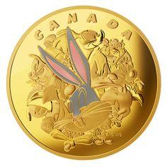 Looney Tunes(TM): Ensemble Cast - One-Kilogram Pure Gold Coin – Mintage: 10 (2015)