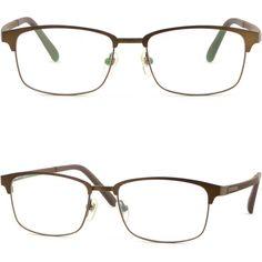 10796af58fa Light Men Women Titanium Frame Prescription Glasses Sunglass UV Protection  Brown. Ray Ban ...