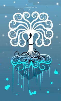 Yggdrasil-- but girly! Love it!