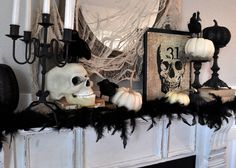 47 More Scary DIY Outdoor Halloween Decorations - decorill. Hocus Pocus Halloween Decor, Spooky Halloween Decorations, Halloween Home Decor, Outdoor Halloween, Halloween Displays, Thanksgiving Decorations, Classy Halloween, Fall Halloween, Halloween 2018
