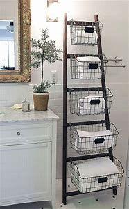 Image Result For Diy Bathroom Shelf With Baskets Home Bathroom